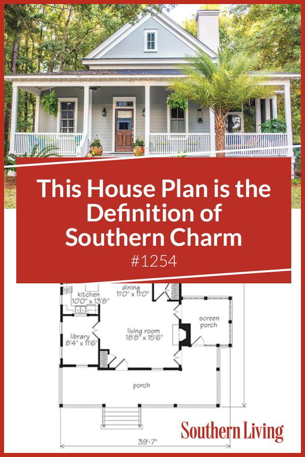 Why We Love House Plan 1254 Beach House Plans Southern Living House Plans Cottage Floor Plans