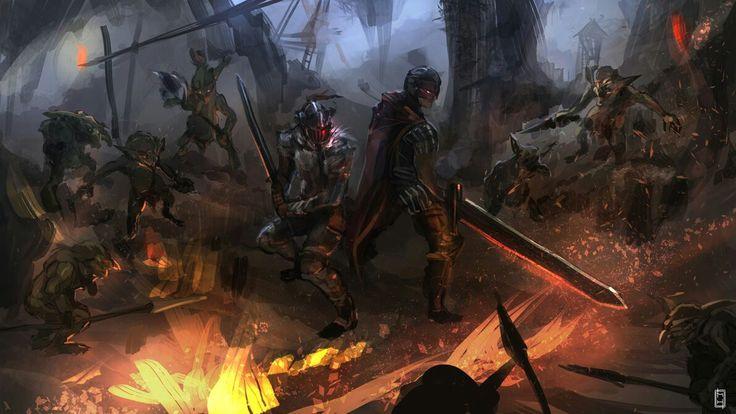 Crossover Goblin Slayer & Berserk Goblin, Berserk, Dark