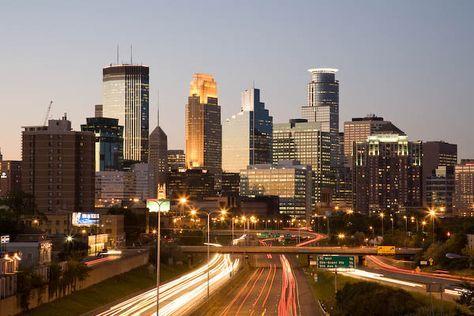 Minneapolis Skyline - Minneapolis, Minnesota