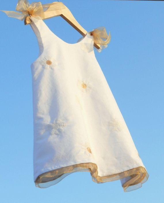 Vestido lino Miss Sunshine, Niños y bebé, Ropa, Ropa, Vestidos