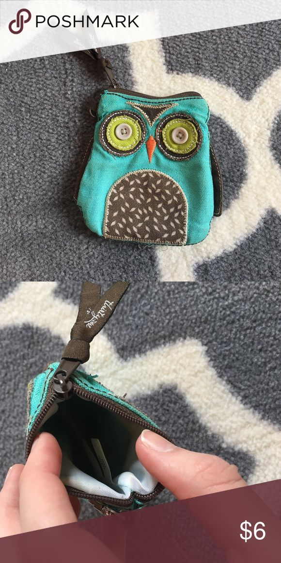 Owl Coin Purse Thirty-one owl coin purse. Adorable! Smoke free home (: thirty one  Accessories