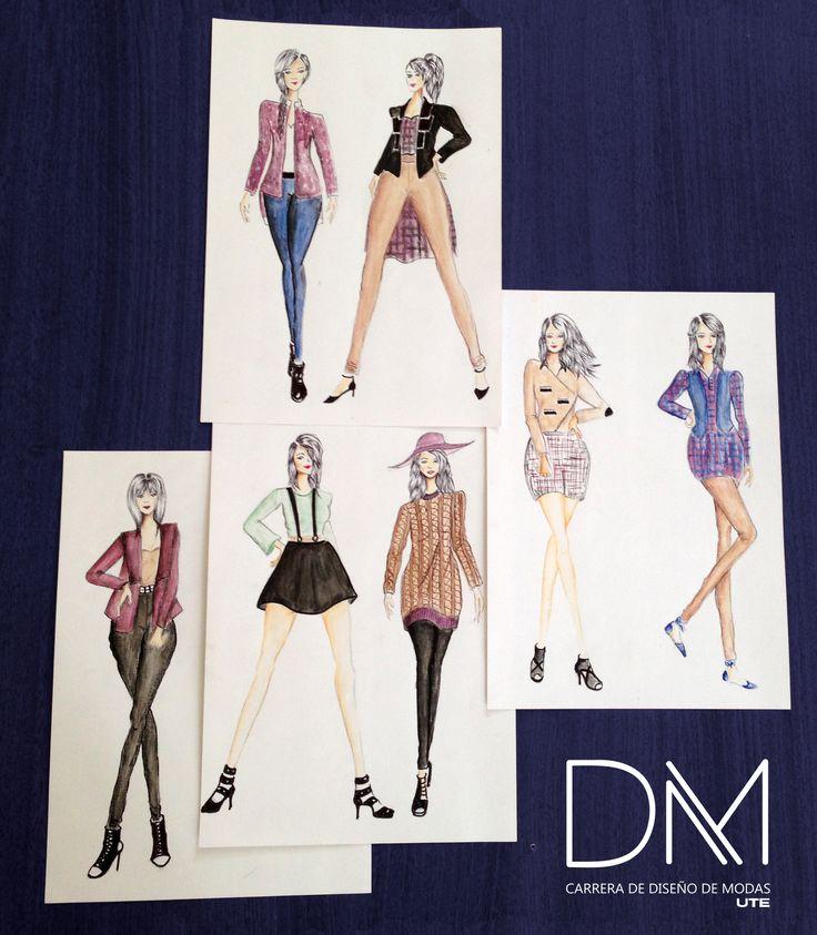 Ilustración Diseño Casual - Alumno: Claudia Chalampuente