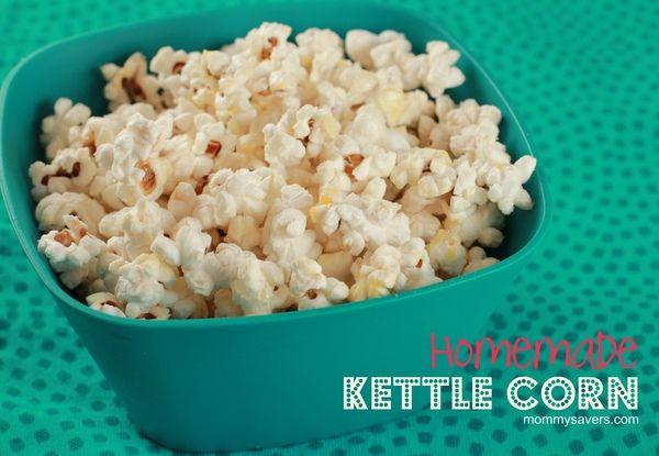 Homemade Kettle Corn Recipe