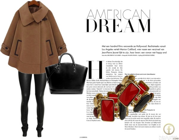 """""""Black-Camel-Red"""" by tbozkn on Polyvore"""
