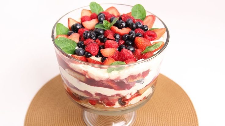 Berry Trifle Recipe - Laura Vitale - Laura in the Kitchen Episode 762