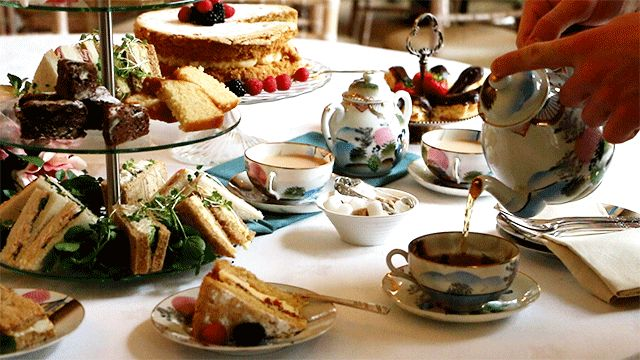 Afternoon Tea - Cinemagraph / Living Photo - Jo Neville Photography - Anna's Kitchen at High Elms Manor, Garston