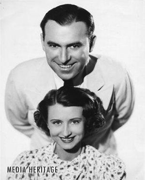 actor tim ryan & his wife irene ryan -irene was grannie clampett on beverly hillbillies tv show.