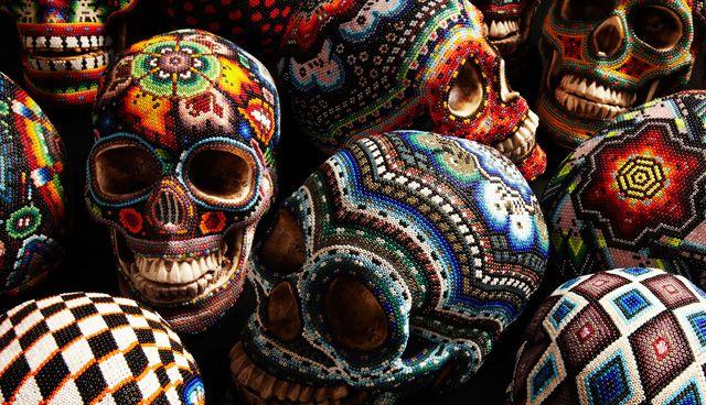 Cráneos decorados