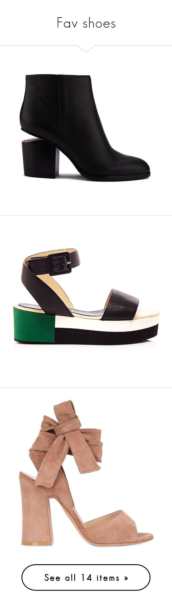Fav shoes by yvmackelenberg on Polyvore featuring polyvore, women's fashion, shoes, boots, ankle booties, botas, black, heels, cutout booties, cut out booties, high heel ankle booties, high heel booties, high heel boots, sandals, flats, black sandals, black leather sandals, wide flats, wide width sandals, flat shoes, nude, leather sole shoes, suede lace up sandals, high heel shoes, nude shoes, wrap shoes, sneakers, silver, white platform shoes, silver shoes, white platform sneakers, lace up…