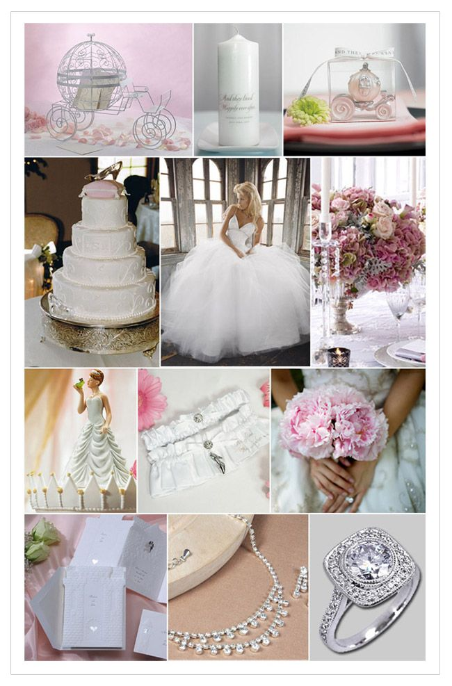 When I Think Fairytale Wedding I Picture Crystals Rhinestones