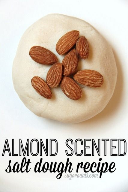 Almond Scented Salt Dough Recipe – #Almond #Dough …