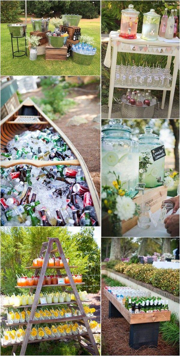 15 einzigartige Hochzeit Signature Drink-Ideen für Ihren großen Tag  #drink #e…