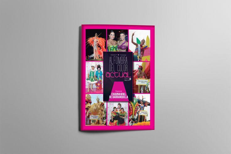 #Layout #Design Cartilla Alfombra Color Actual Cliente RevistaActual