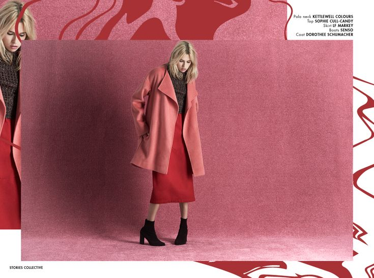 Stories Collective / Pink Amplified / Photography Philip Blythman / Styling Amy…