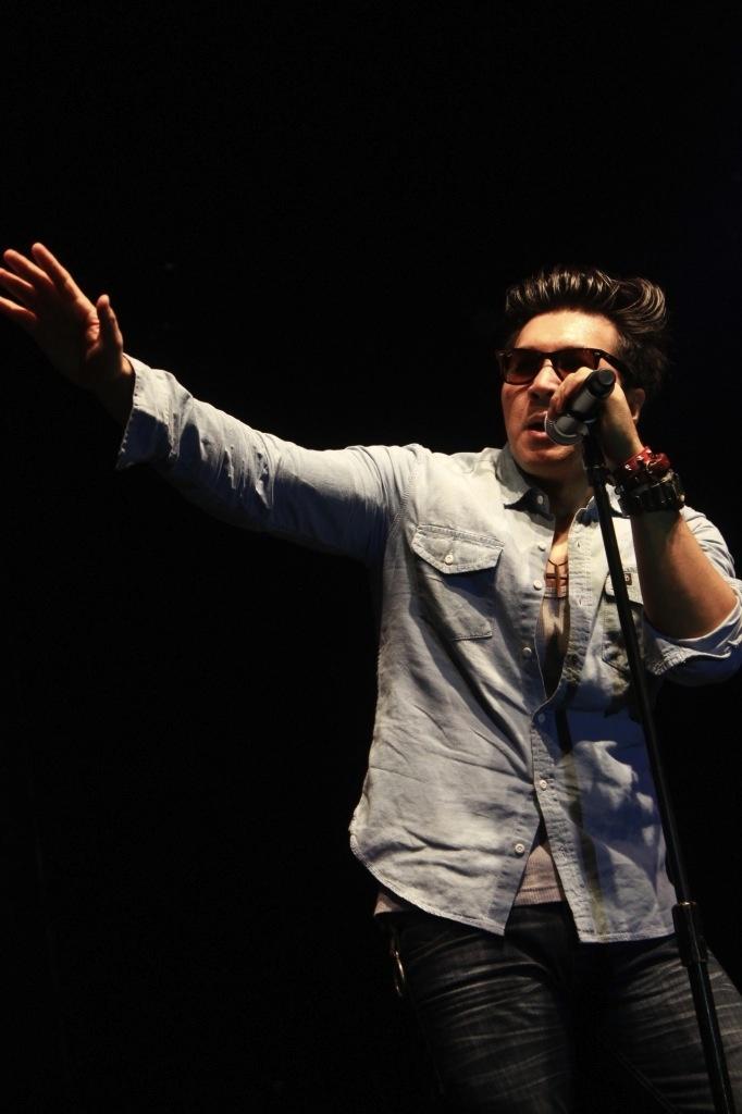 David NAIF at Jakarta Blues Festival 2012