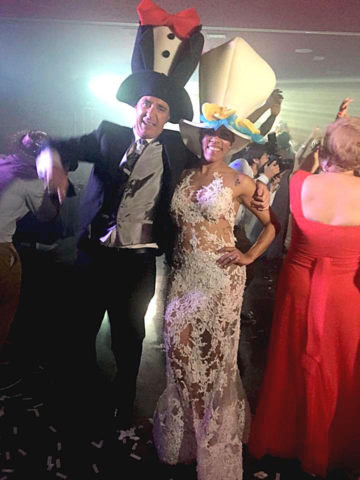Be My Dance organizó parte de esa animación y ayudó a que los novios tuvieran la boda de sus sueños.