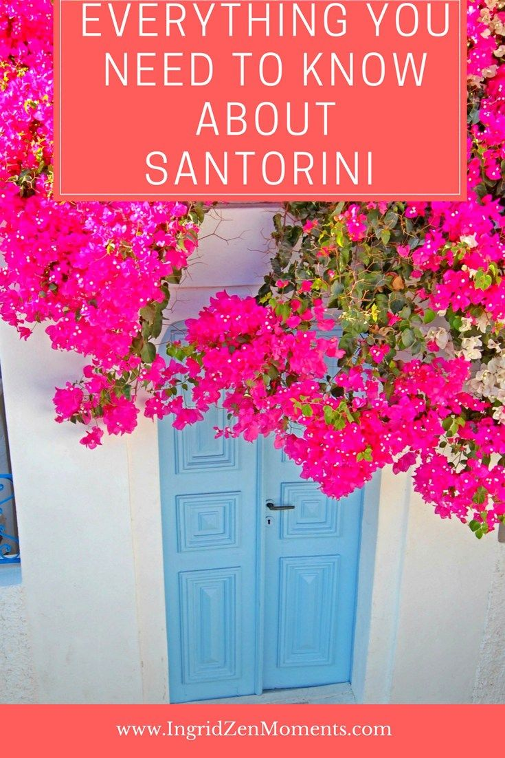 Want to know where to stay, where to eat, the perfect place to watch the sunset from on Santorini island? Here is everything you need to know before visiting!