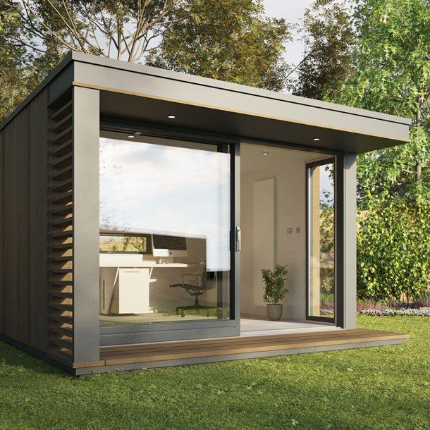 25 best ideas about garden office on pinterest garden for Outdoor home office buildings