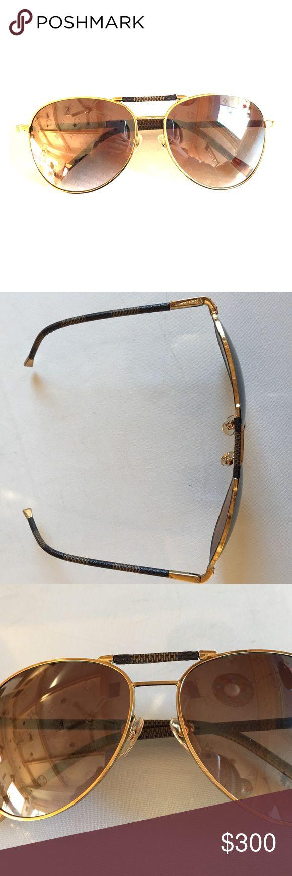 LV style millionaire sunglasses Excellent quality sunglasses. LV inspired. Good condition. Unisex. Original one is about $3k Louis Vuitton Accessories Sunglasses