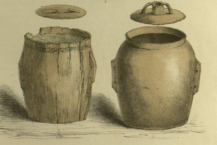 Bog butter barrels