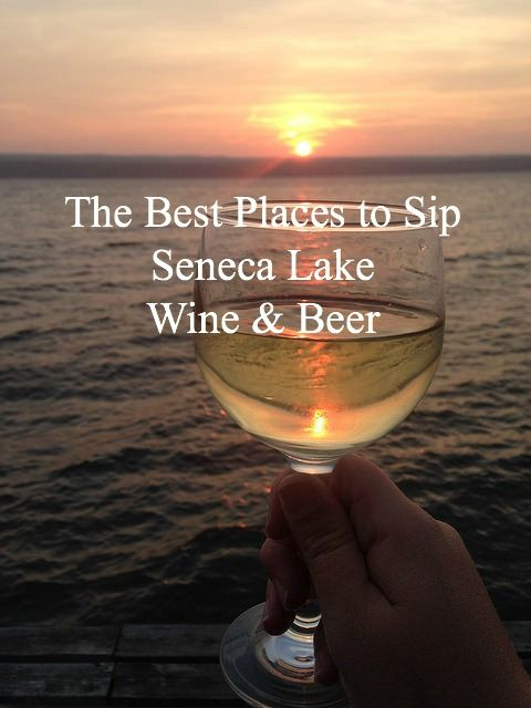 Headed to Seneca Lake in the Finger Lakes region of NY? Here are the best breweries & wineries to visit!