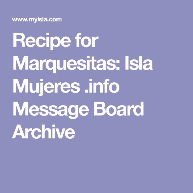 Recipe for Marquesitas: Isla Mujeres .info Message Board Archive