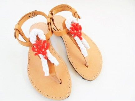 Red Coral Sandals
