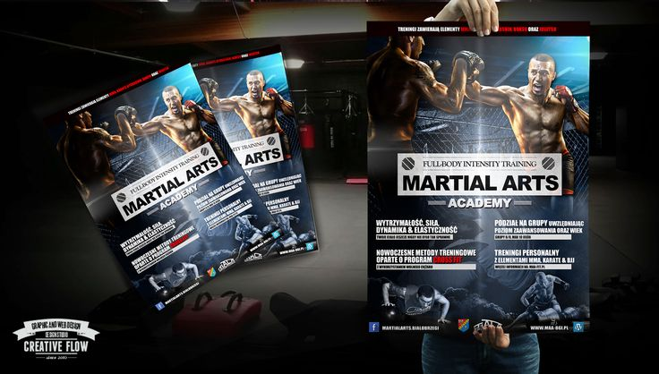 Martial Arts Academy - Poster and Flyer