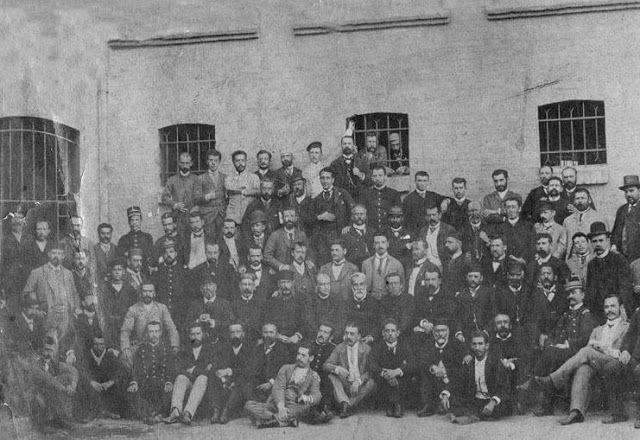 Balmacedistas , 1891   en la cárcel  de Valparaíso
