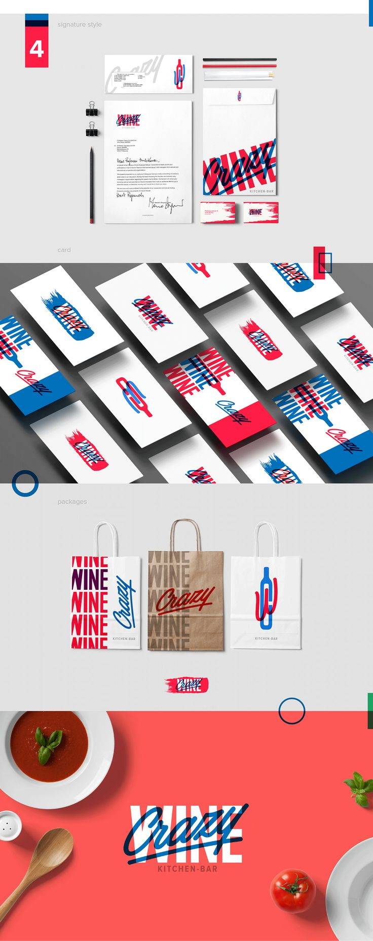 Crazy Wine - branding on Behance