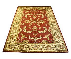 Tappeto Ziegler rosso bordeaux - 200x300 cm