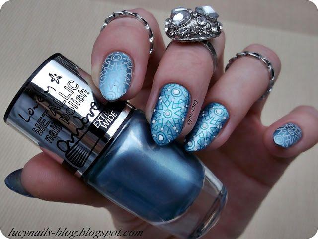 Lovely  Ombre Metallic Nail Polish nr 4