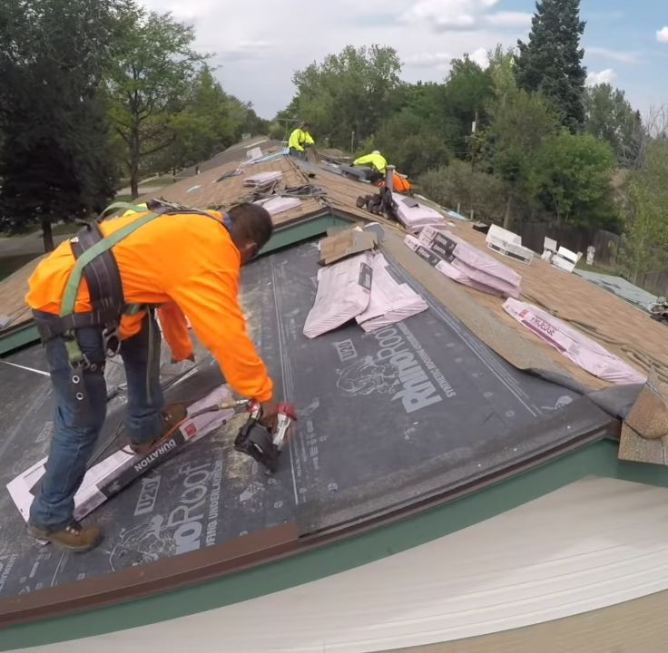 Best Roofing Underlayment Cool Roof Synthetic Roofing Architectural Shingles