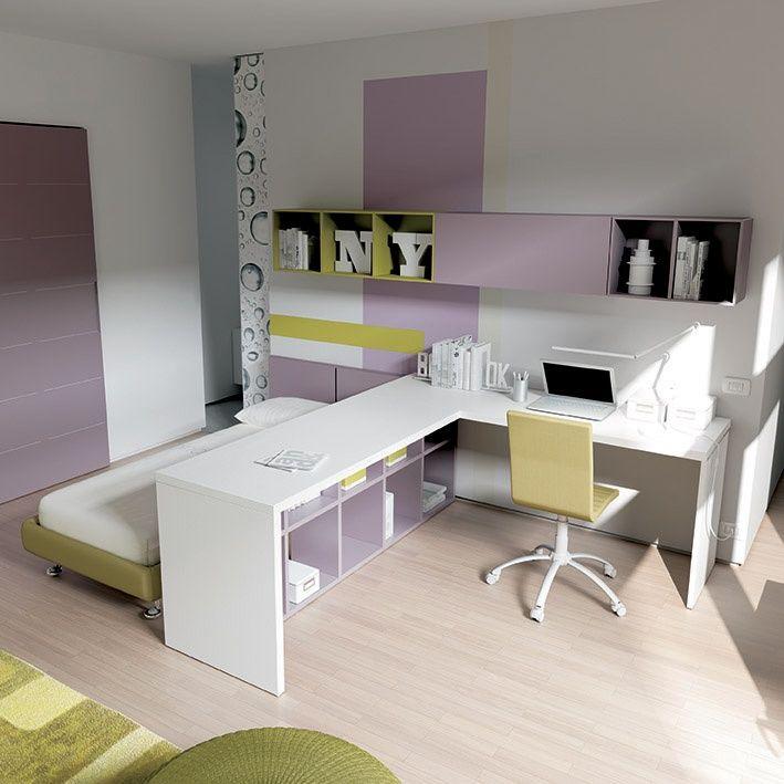 #recamara #ahorraespacio #modular #calidad #sak #diseño #lonuevo #cama #escritorio #bedroom # bed #desk #shoparchkids #KC18