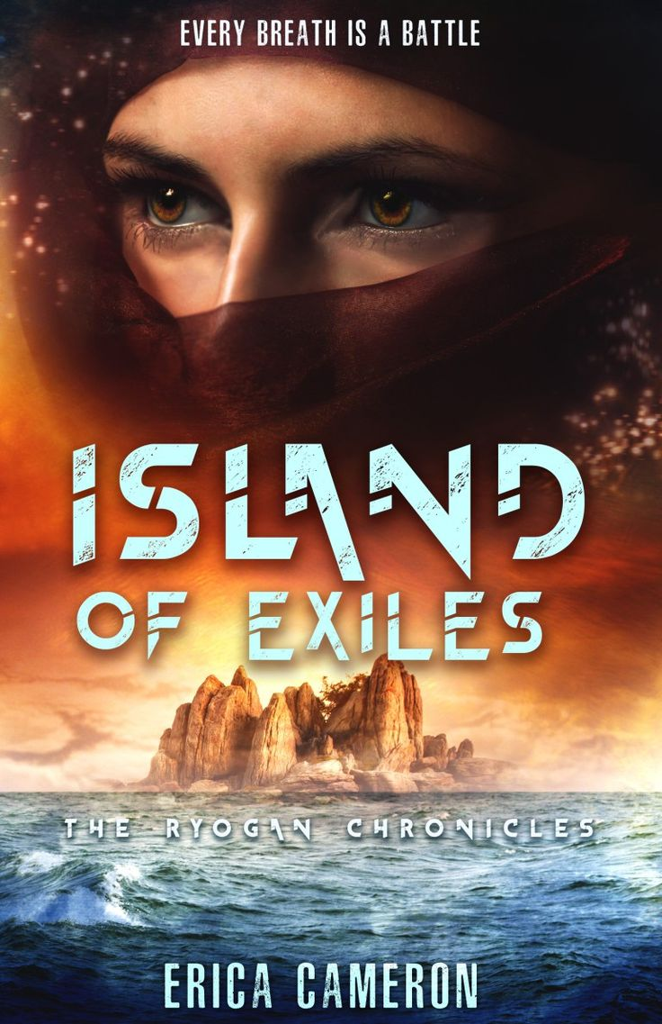 Island of exiles by erica cameron blog tour book review giveaway an
