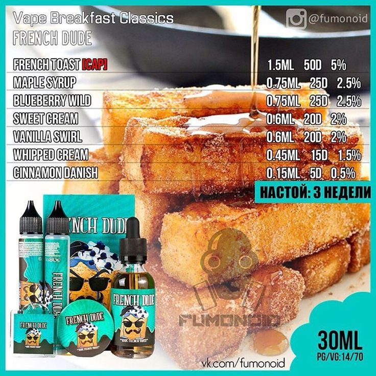 Vape Breakfast Classics, French Dude Discover These E-Liquids and more @ http://TeagardinsVapeShop.com or look for Teagardins Vape Shop in google play store today to get all the Newest vape products right on your cell phone.