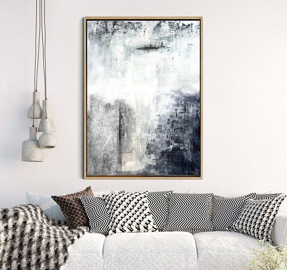 Abstract Print, Abstract Wall Art, Black Abstract Art, Black and White Print, Minimalist Decor, Home Decor, Wall Decor, Instant Download
