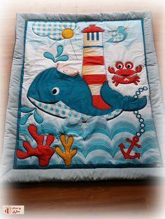 Babydecken - Patchworkdecke Kuscheldecke Babydecke Krabbeldecke - ein Designerstück von J3ee bei DaWanda