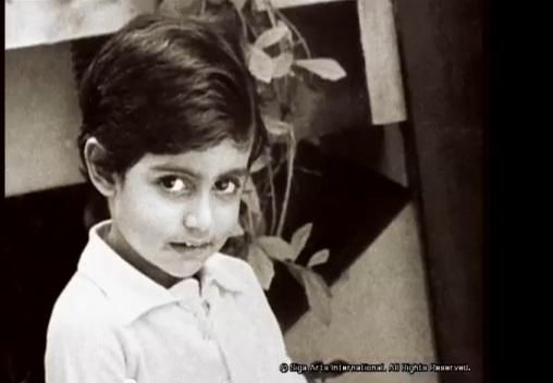 Childhood Pictures Of Abhishek Bachchan!