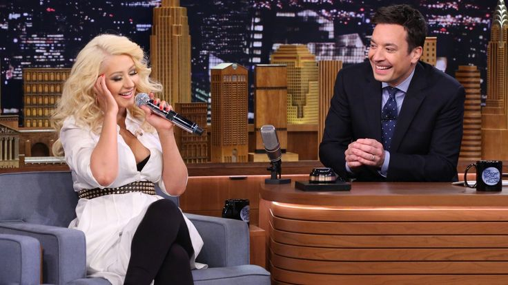 Christina Aguilera stuns with Cher, Britney vocals on 'Tonight'