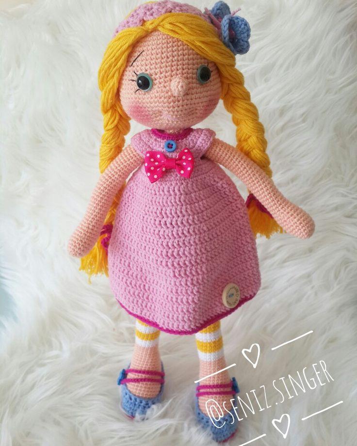 Amigurumi doll boy 36 cm