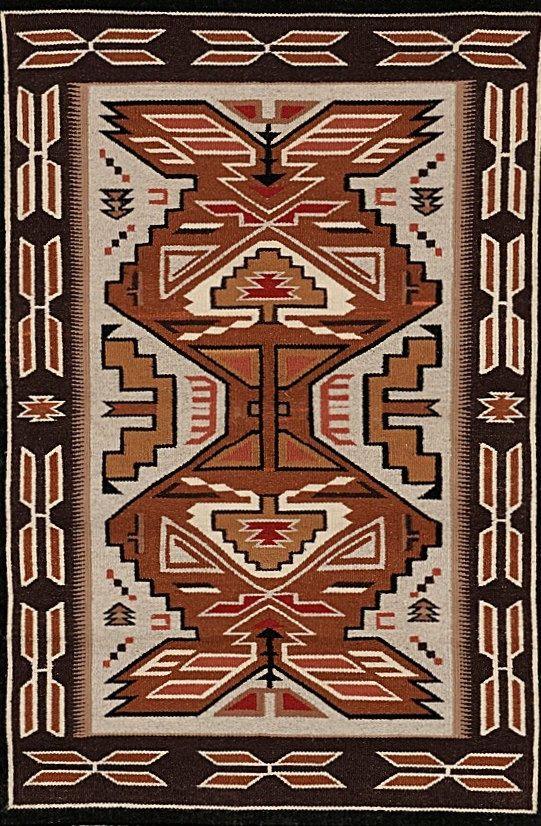 Navajo Rug Teec Nos Pos Weaving Wool Rugs native by CulturalPatina