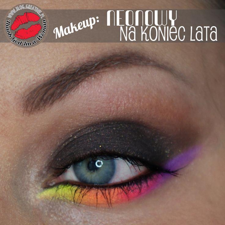 Make-up: Makijaż na koniec lata w stylu Bollywood i Neonowy