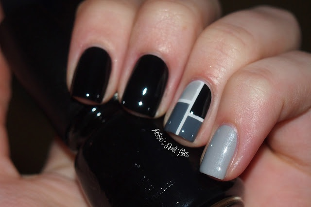 Kelsie's Nail Files: Classy Color Block