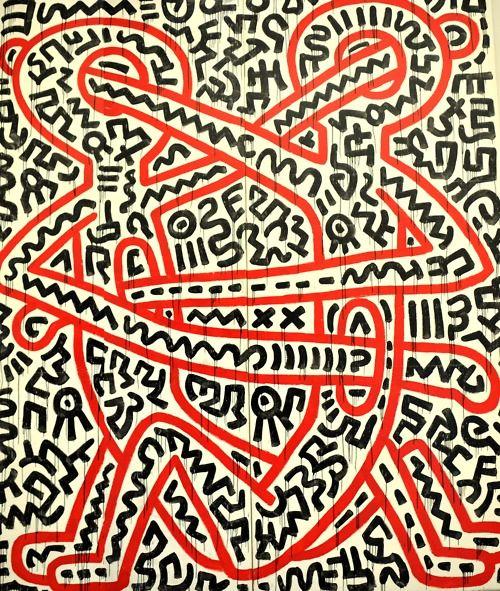 Keith Haring -  Musée d'art moderne de la Ville de Paris