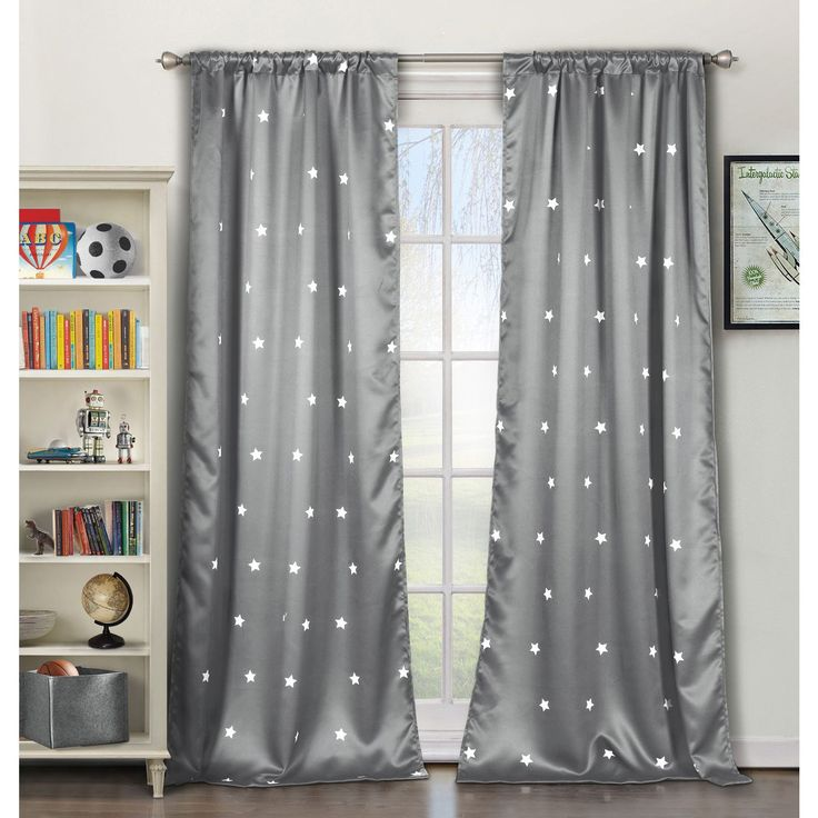 1000 Ideas About Grey Blackout Curtains On Pinterest
