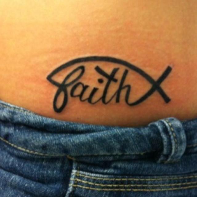 Faith Tatoo <3 so cute.