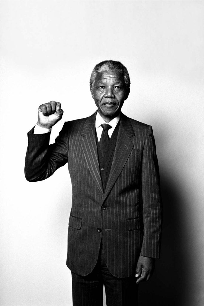 Nelson Mandela Anti-apartheid activist who became President of South Africa from 1994 to 1999, the first to be elected in a fully democratic process. Mandela served 27 years in prison. Following his release in 1990, Mandela supported reconciliation and negotiation, and led the transition towards multi-racial democracy in South Africa. One of Mandela's primary commitments in recent years has been to the fight against AIDS. He won the 1993 Nobel Peace Prize. Photo by Hans Gedda