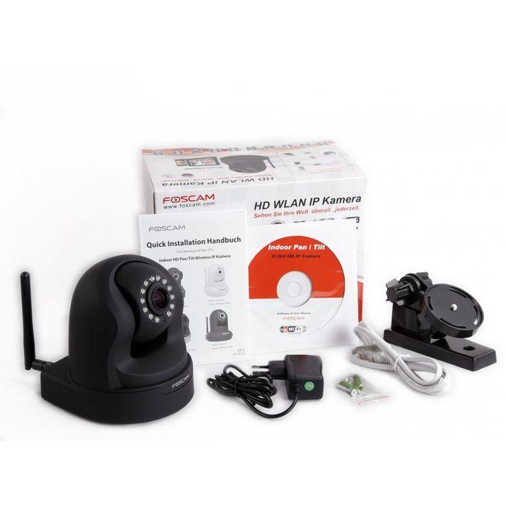 Foscam FI9826P HD WLAN IP Kamera mit P2P und Zoom