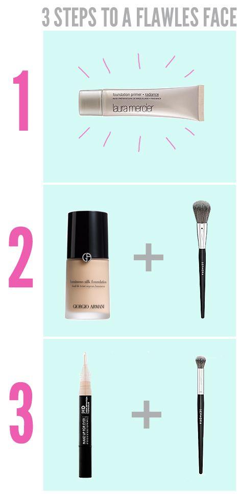 Flawless Face, quick makeup, makeup tutorials, the beauty department